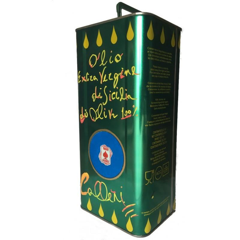 olio extravergine di oliva Evo Asso Calleri conf. 5 lt.
